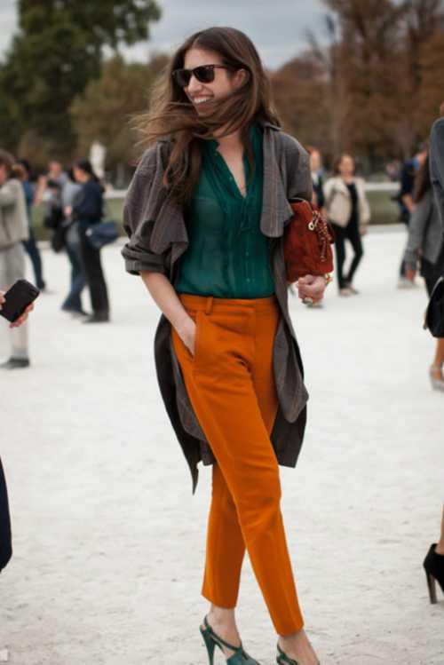 оранжевый цвет: сделай жизнь ярче